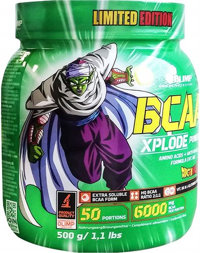 Olimp Dragon Ball Z Series BCAA Xplode Ice Tea Peach (500 gr)