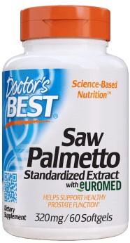 Saw Palmetto 320mg (60 softgels)