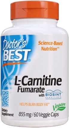 L-Carnitine Fumarate 855mg (60 caps)