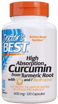 Curcumin C3 Complex 500mg (120 caps)