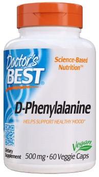 D-Phenylalanine (60 caps)