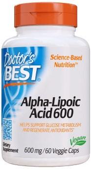 Alpha Lipoic Acid 600mg (60 caps)