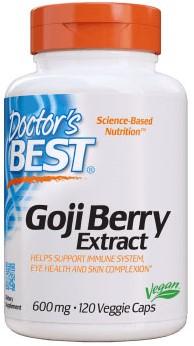 Goji Berry Extract 600mg (120 caps)