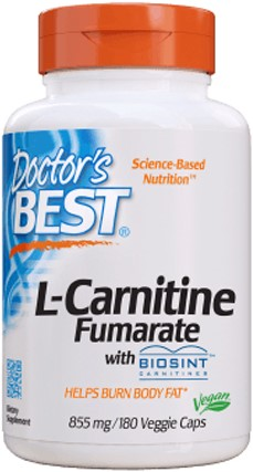 L-Carnitine Fumarate 885mg (180 caps)