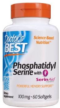 Phospatidylserine 100mg (60 softgels)
