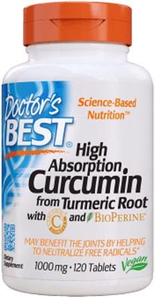 Curcumin C3 Complex 1000mg (120 tabs)