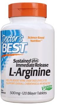 Sustained + Immediate Arginine (120 tabs)