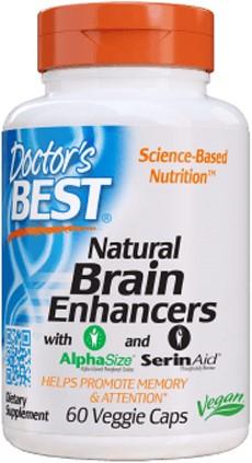 Natural Brain Enhancers (60 caps)