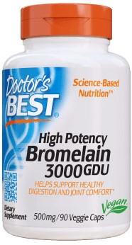 3000 GDU Bromelain (90 caps)