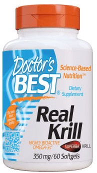 Real Krill 350mg (60 softgels)