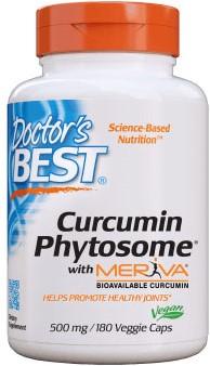 Curcumin Phytosome w/Meriva (180 caps)