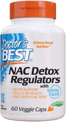 NAC Detox Regulators (60 caps)
