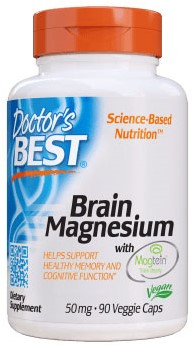 Brain Magnesium 50mg (90 caps)