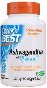 Ashwagandha w/Sensoril (60 caps)