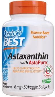 Astaxanthin w/AstaPure 6mg (30 gels)