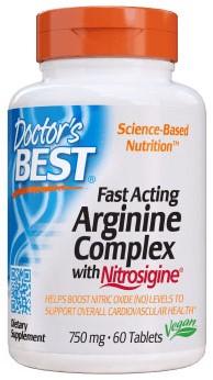Fast Acting Arginine w/Nitrosigine (60 tabs)
