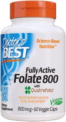 Folate 800mcg (60 caps)
