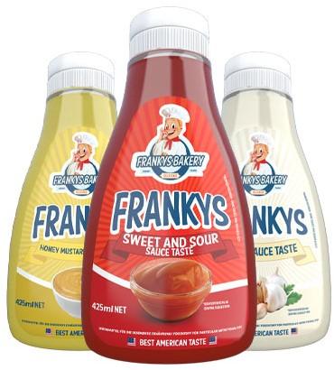 Franky's Bakery Zero Sauces (425 ml)