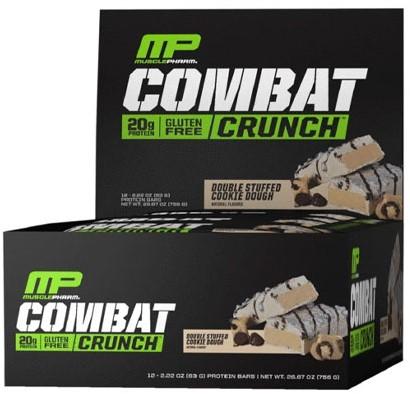 Combat Crunch Bars Double Stuffed Cookie Dough (12 x 63 gr)