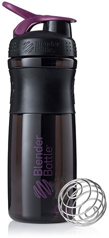 BlenderBottle Sportmixer Black/Plum (820 ml)