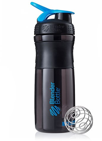 BlenderBottle Sportmixer Black/Cyan (820 ml)