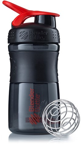 BlenderBottle Sportmixer Black/Red (590 ml)