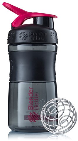BlenderBottle Sportmixer Black/Pink (590 ml)