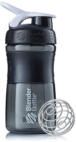 BlenderBottle Sportmixer Black/White (590 ml)