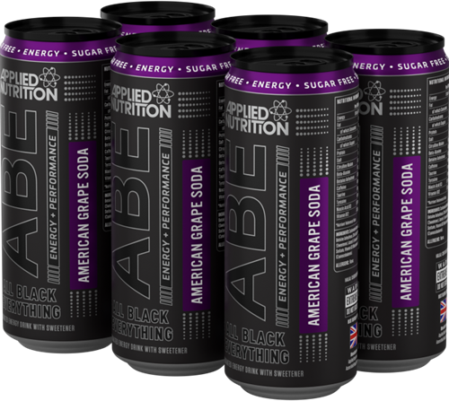 ABE Energy + Performance American Grape Soda (6 x 330 ml)
