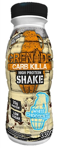 Carb Killa Shake White Chocolate (1 x 330 ml)