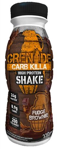 Carb Killa Shake Fudge Brownie (1 x 330 ml)