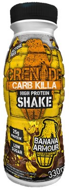 Carb Killa Shake Banana Armour (1 x 330 ml) Ten minste houdbaar tot: 2-2021