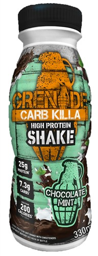 Carb Killa Shake Chocolate Mint (1 x 330 ml)