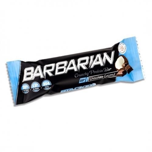 Barbarian Protein Bar Chocolate Coconut (1 x 55 gr)