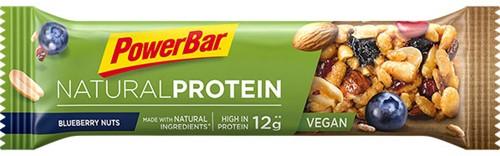 Natural Protein Bar Blueberry Nuts (1 x 40 gr) Ten minste houdbaar tot: 1-2021