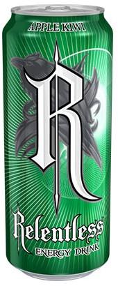 Relentless Energy Apple & Kiwi (1 x 500 ml)