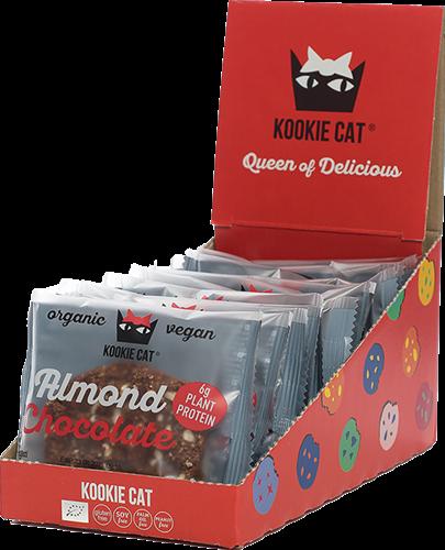 Kookie Cat Almond Chocolate Protein (12 x 50 gr)