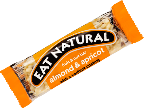 Eat Natural Fruit & Nut Bar Almond & Apricot (1 x 50 gr)