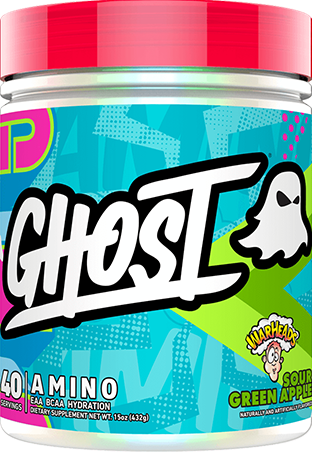 Ghost Amino Warheads Sour Green Apple (432 gr)