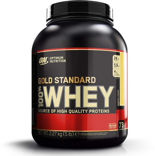 Gold Standard 100% Whey Banana Cream (2270 gr)