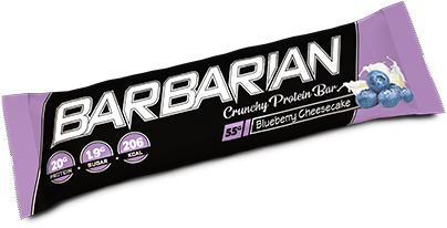 Barbarian Protein Bar Blueberry Cheesecake (1 x 55 gr)