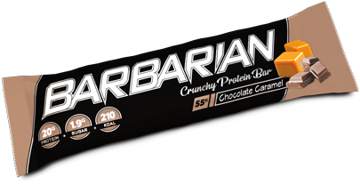 Barbarian Protein Bar Chocolate Caramel (1 x 55 gr)