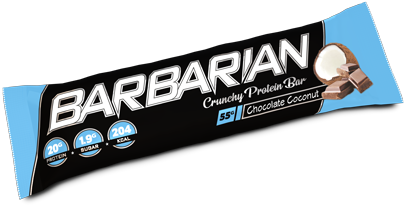 Barbarian Protein Bar Chocolate Coconut (1 x 55 gr)