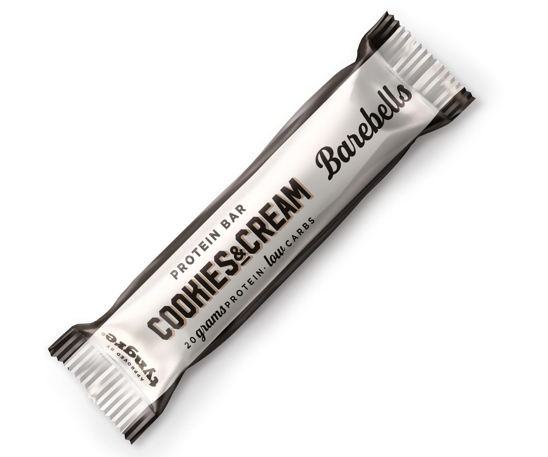 Barebells Protein Bar Cookies & Cream (1 x 55 gr)