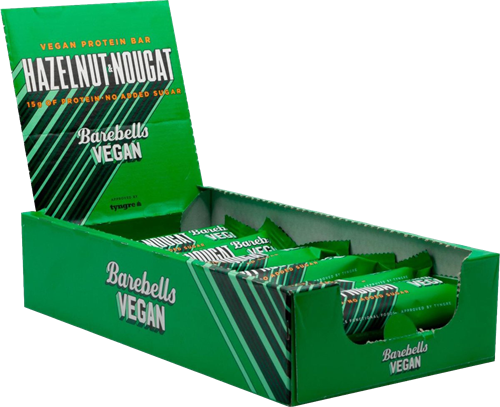 Barebells Vegan Hazelnut Nougat (12 x 55 gr)