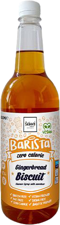Skinny Barista Coffee Syrup Gingerbread Biscuit (1000 ml)
