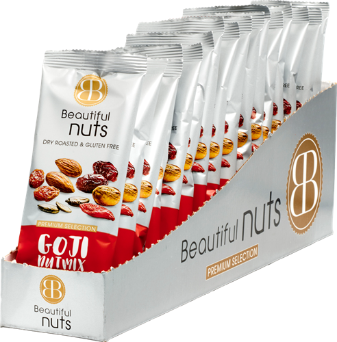 Beautiful Nuts Goji Mix (16 x 50 gr)
