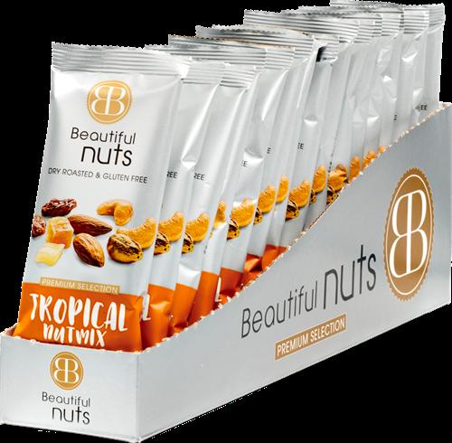 Beautiful Nuts Tropical Mix (16 x 50 gr)