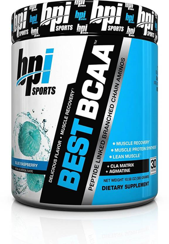 Best BCAA Shredded Blue Raspberry (275 gr)
