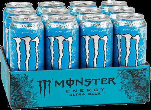 Monster Energy Ultra Blue (12 x 500 ml)